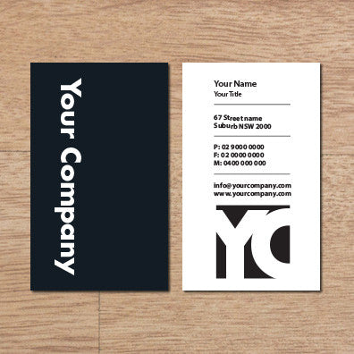 Image of business card design B100271