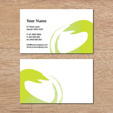 Image of business card design B100274