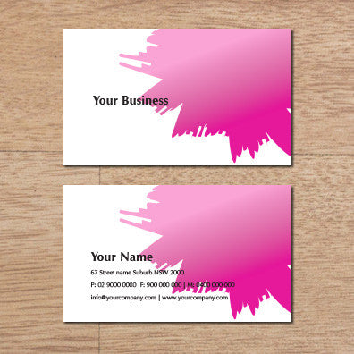 Image of business card design B100277