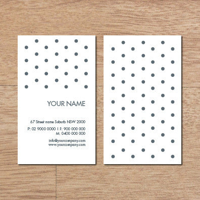Image of business card design B100279