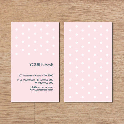 Image of business card design B100280