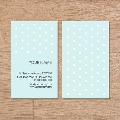 Image of business card design B100281