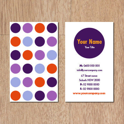 Business Card B100290