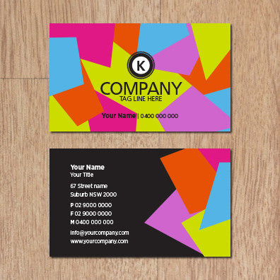 Image of business card design B100292