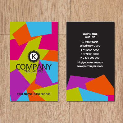 Image of business card design B100293