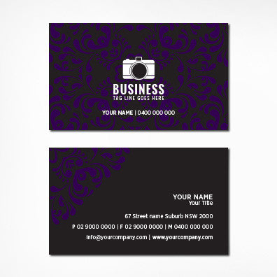 Image of business card design B100298