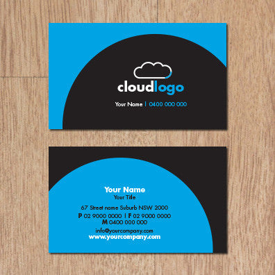Image of business card design B100300