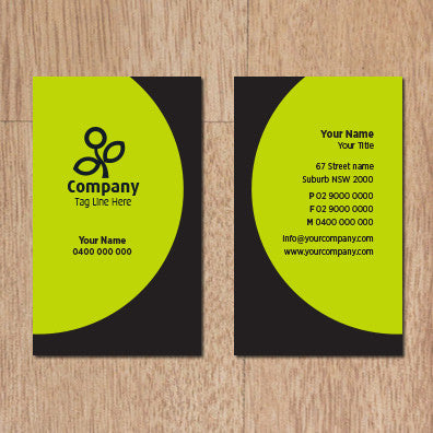 Image of business card design B100301