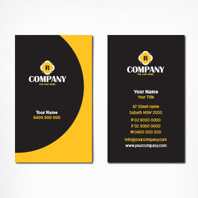 Image of business card design B100302