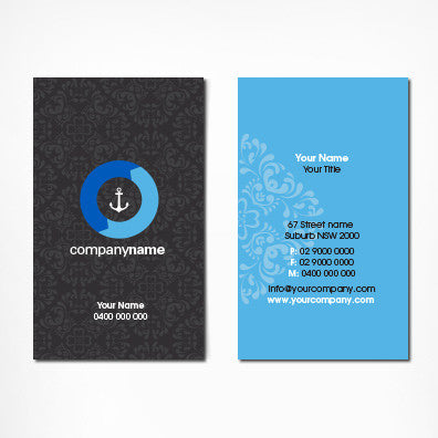 Image of business card design B100303