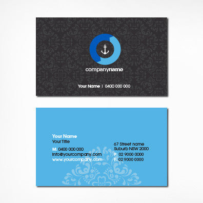 Image of business card design B100304
