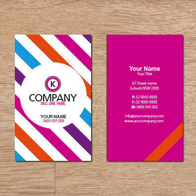 Image of business card design B100306