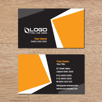 Image of business card design B100309