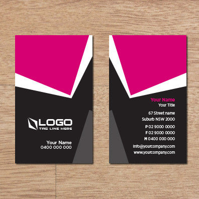 Image of business card design B100311