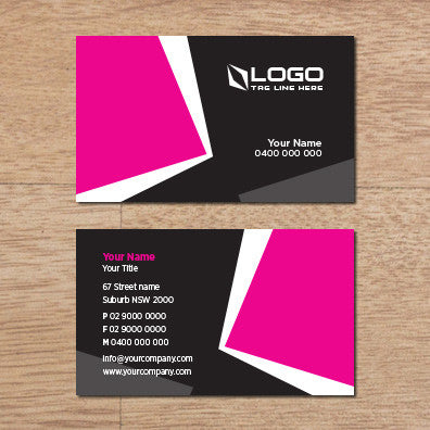 Image of business card design B100312