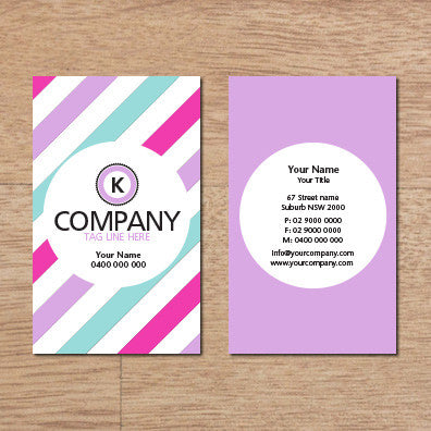 Image of business card design B100316