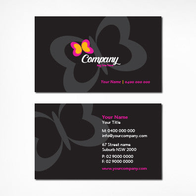 Image of business card design B100317