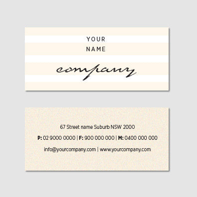 Business Card B100954