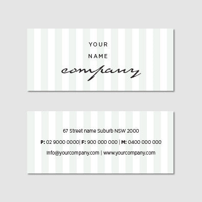 Business Card B100955