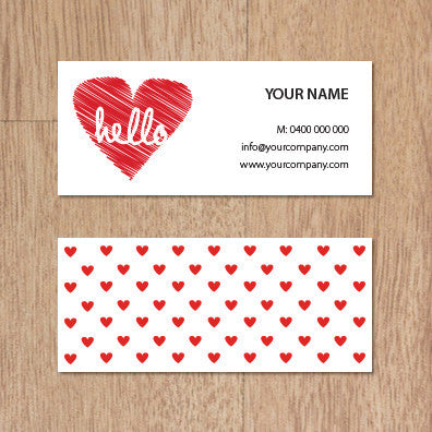 Image of business card design B100956