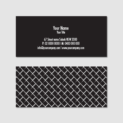 Business Card B100961
