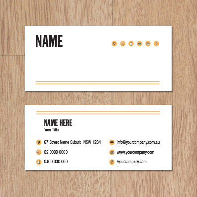Image of business card design B100978