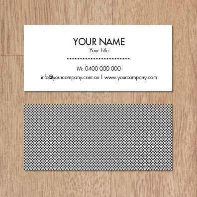 Business Card B100989