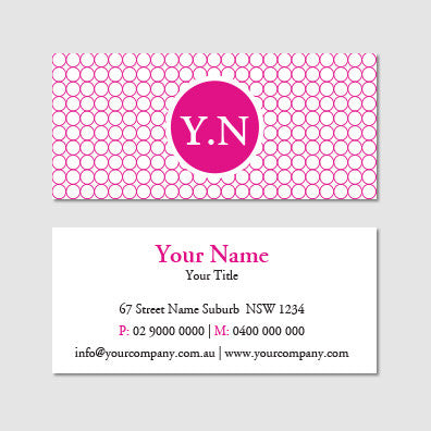 Image of business card design B100991