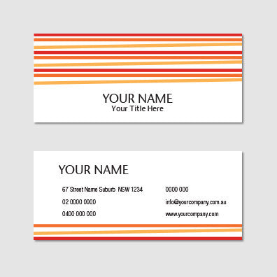 Image of business card design B100992