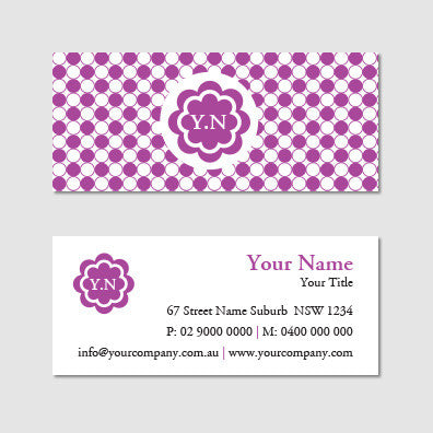 Image of business card design B100993