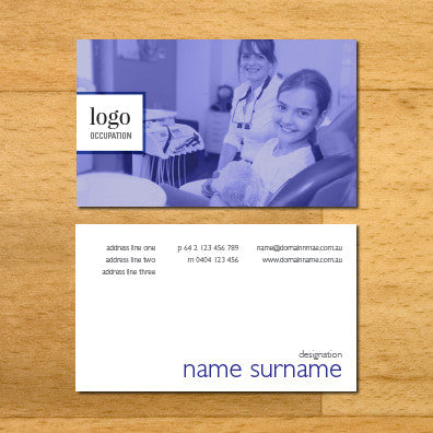Image of business card design BF54435807-3