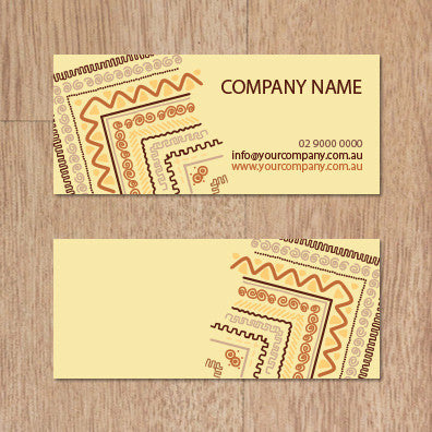Image of business card design BF55437253-4-5