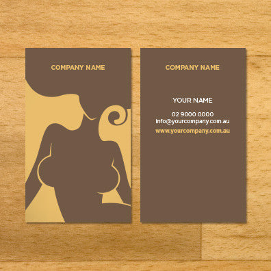 Image of business card design BF61305937-2-4