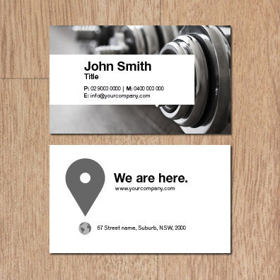 Image of business card design BF71762455-2