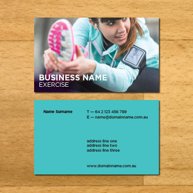 Image of business card design BF77533560-1
