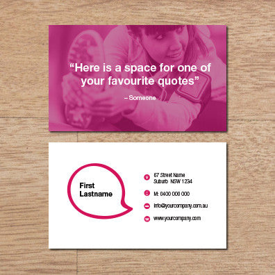 Image of business card design BF77533560-4