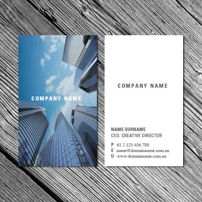 Image of business card design BF79488604-1