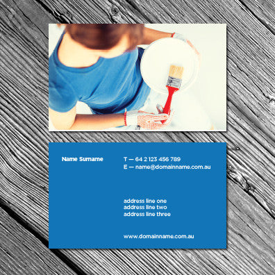 Image of business card design BF79903491-5