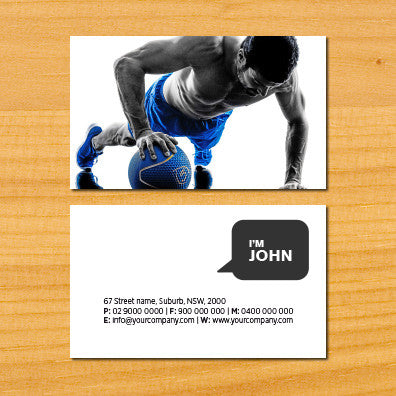 Image of business card design BF79925653-2