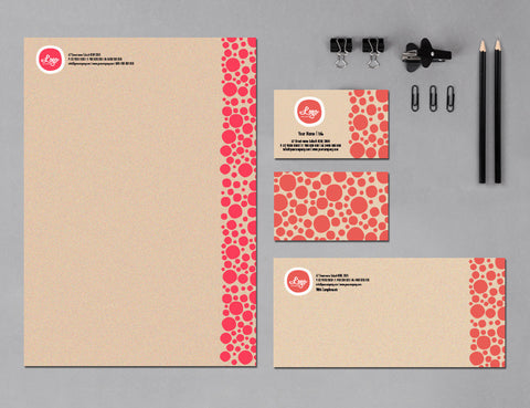 Image of stationery design S010966