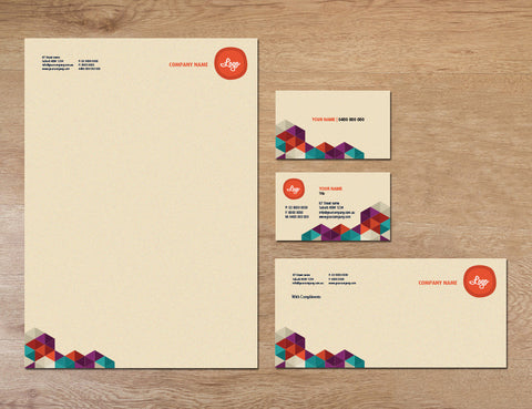 Image of stationery design S010972