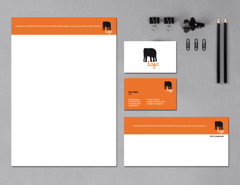 Image of stationery design S010974