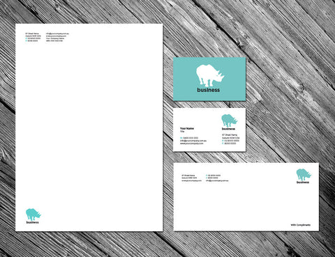 Image of stationery design S010976