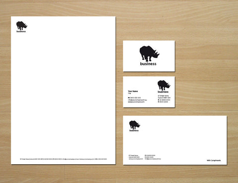 Image of stationery design S010977
