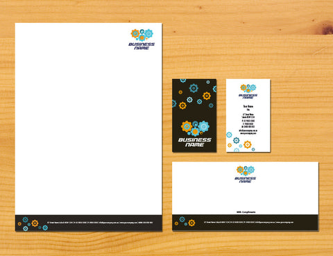 Image of stationery design S010979