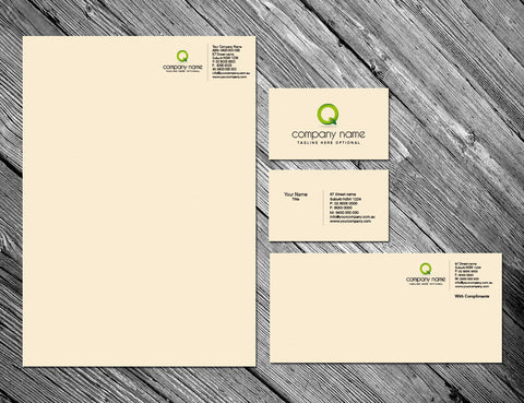 Image of stationery design S010981