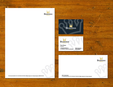 Image of stationery design S010984