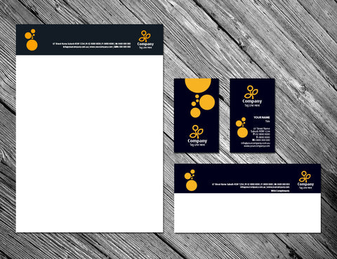 Image of stationery design S010985