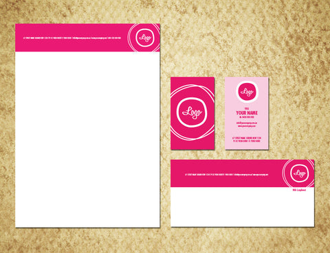 Image of stationery design S010990