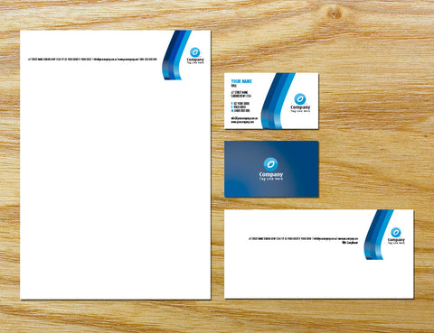 Image of stationery design S010991